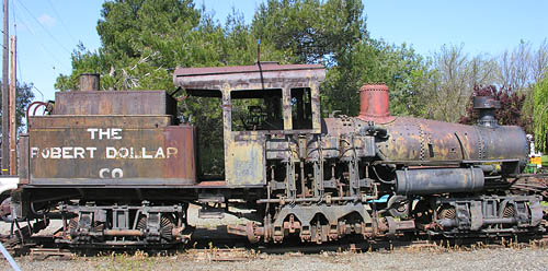 Locomotive: Lima Shay Geared Steam, Robert Dollar Lumber Co.