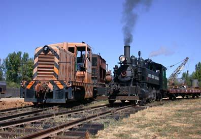 Locomotive: GE 44 Tonner Diesel-Electrric, A&MRRR #104