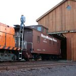 Rail Caboose, Northwestern Pacific Railroad #13