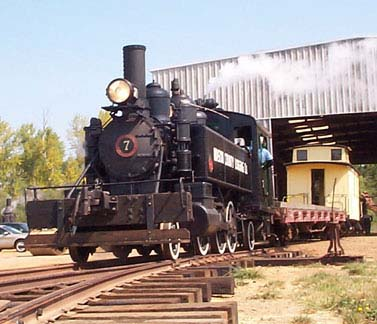 Locomotive: Baldwin Steam, Mason County Logging Co #7