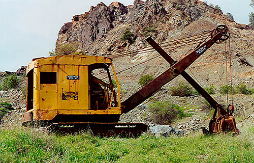 Shovel, Bucyrus-Erie 22B Diesel #96300