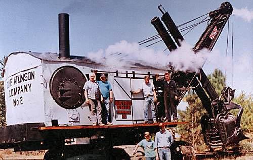 Shovel, Bucyrus-Erie 50-B Steam