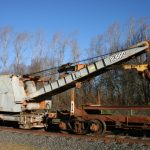 Rail Shovel, Burro Model 40