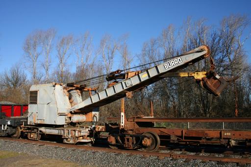 Rail Shovel, Burro Model 40
