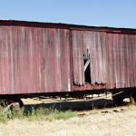 Rail Boxcar, California Western Railroad #462