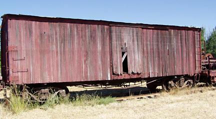 Rail Boxcar, California Western Railroad #462