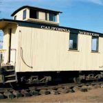 Rail Caboose, California Western Railroad #4