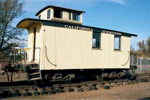 You are currently viewing Rail Caboose, California Western Railroad #4