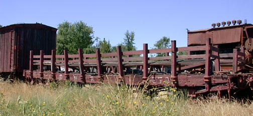 You are currently viewing Rail Flatcar, California Western Railroad #370