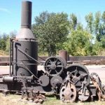 Donkey, California Iron Works Horizontal Spool, Steam
