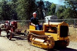 Tractor, Caterpillar Ten