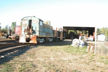 Locomotive: Baldwin Diesel-Electric, California Western Railroad #53