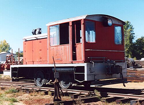 Locomotive: Davenport Besler Corp, CA Redwood Co. 101