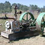 Engine, Decker Shingle Mill Portable Steam