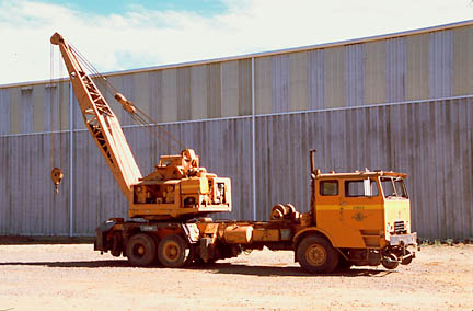 You are currently viewing Crane, Ernest Holmes Truck Crane