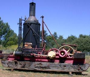 Donkey, Eureka Foundry Horizontal Spool, Steam
