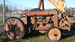 "Tractor, Fordson Industrial ""Lumber Jimmy"""