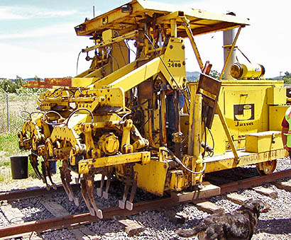 You are currently viewing Rail Tamper / Liner, Jackson Model 2400