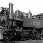Locomotive: Baldwin Steam, California Western #14