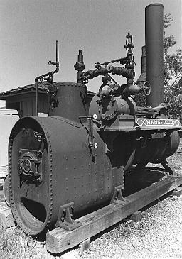 Engine, Mansfield Portable Steam