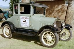Automobile, Ford Model T Constables Car