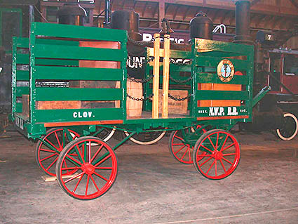 Baggage Cart, Northwestern Pacific Railroad