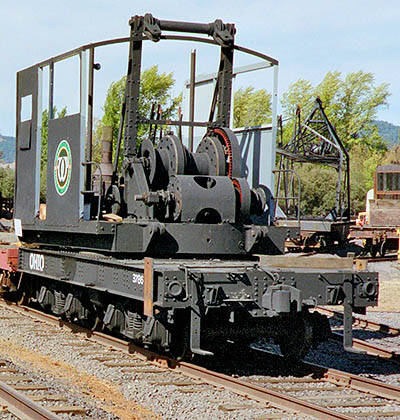 Locomotive Crane, Ohio Steam