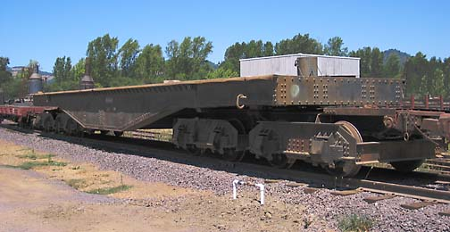 Rail Car, 16-Wheel Donkey-Mover