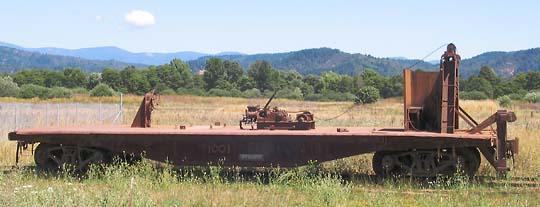 Rail Ballast Spreader, Pacific Car and Foundry