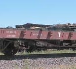 Rail Log Skeleton Car, Pacific Car and Foundry