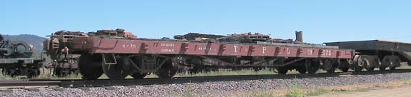 You are currently viewing Rail Log Skeleton Car, Pacific Car and Foundry