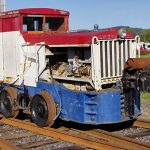 Read more about the article Locomotive: Plymouth 0-4-0, Gas