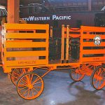 Baggage Cart, Southern Pacific Railroad