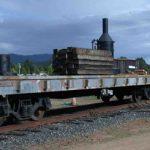 Rail Flatcar, U.S. Army