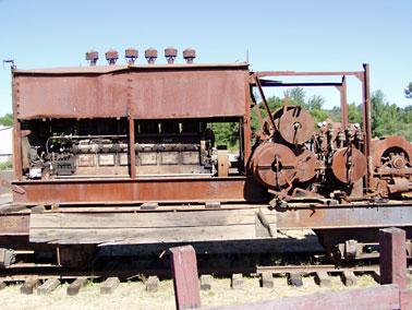 Donkey, Washington Iron Works Estep Diesel Yarder