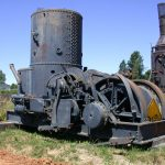 Donkey, Washington Iron Works Steam Yarder #3451