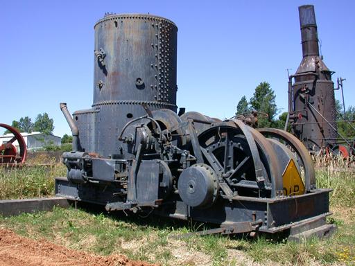 Donkey, Washington Iron Works Steam Yarder #3451