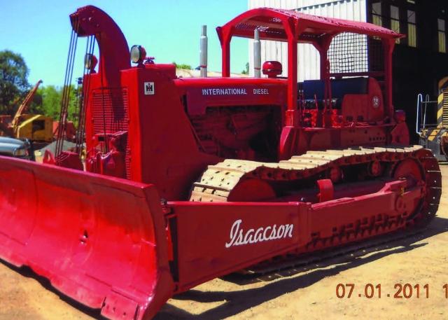 Tractor, International Harvester TD-24